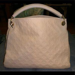 Louis Vuitton Creme Empreinte Leather Artsy